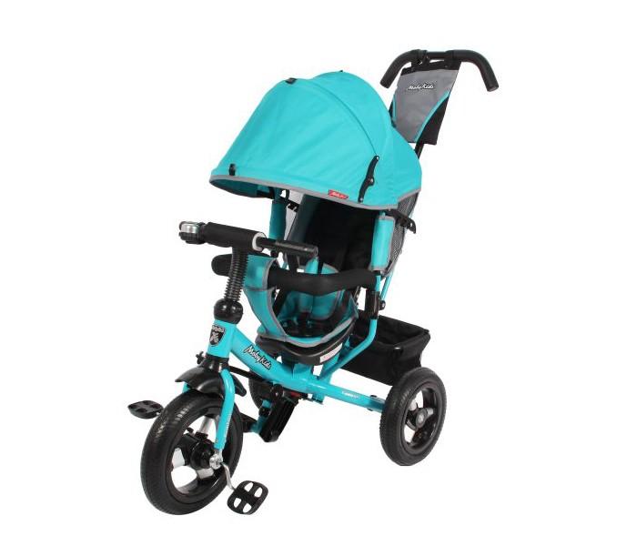 Детский транспорт , Трехколесные велосипеды Moby Kids Comfort 12x10 AIR арт: 520246 -  Трехколесные велосипеды