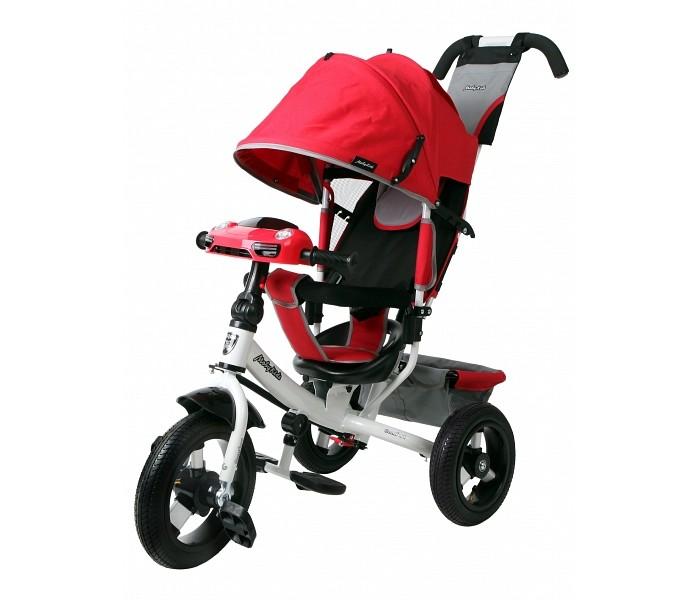 Велосипед трехколесный Moby Kids Comfort Air Car 2