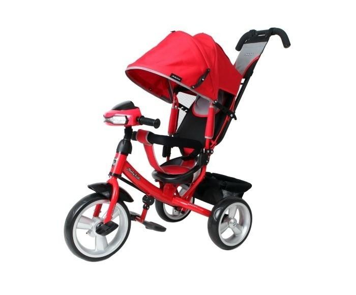Велосипед трехколесный Moby Kids Comfort 12x10 EVA Car