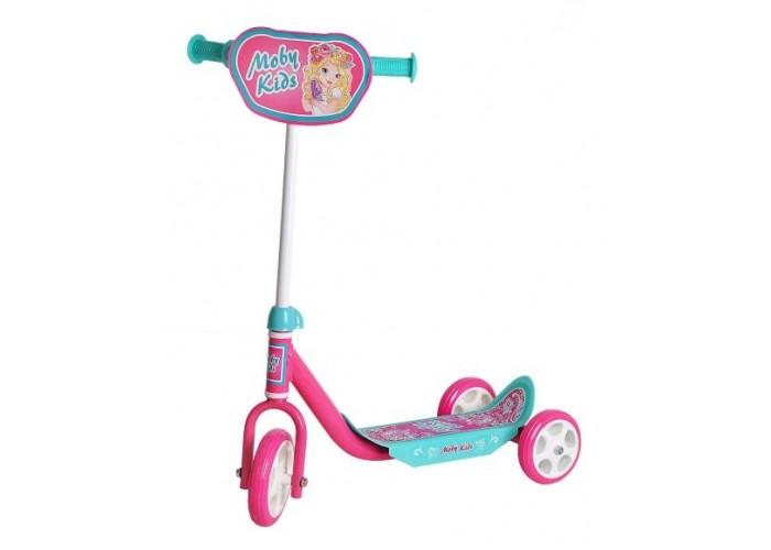 Детский транспорт , Трехколесные самокаты Moby Kids Мечта арт: 521151 -  Трехколесные самокаты