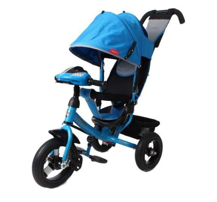 Велосипед трехколесный Moby Kids Comfort AIR Car1