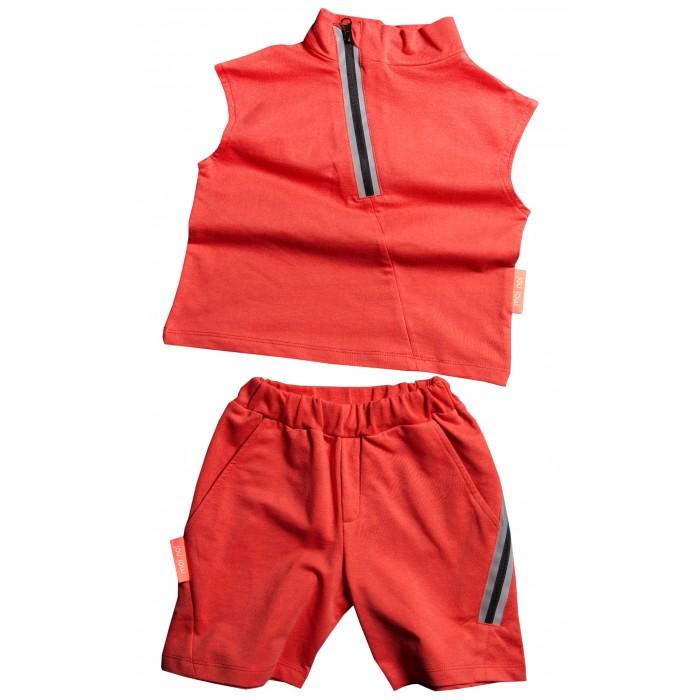 Комплекты детской одежды Moi Noi Комплект для девочки Майка и шорты