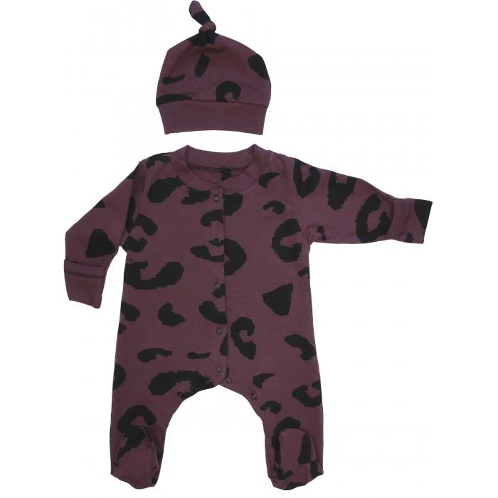 Купить Комплекты детской одежды, Moi Noi Комплект для малыша (комбинезон, шапка) MN10071