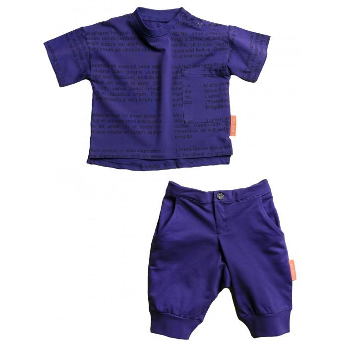 Купить Комплекты детской одежды, Moi Noi Комплект футболка и бриджи Буквы