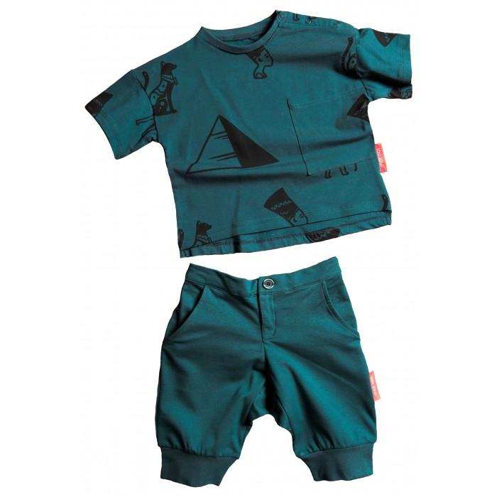 Купить Комплекты детской одежды, Moi Noi Комплект футболка и бриджи Египет