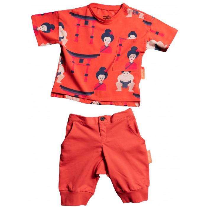 Купить Комплекты детской одежды, Moi Noi Комплект футболка и бриджи Япония