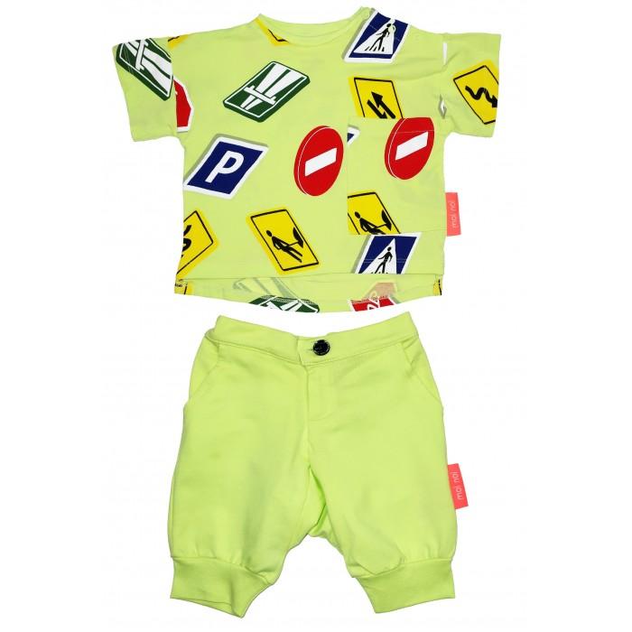 Купить Комплекты детской одежды, Moi Noi Комплект футболка и бриджи Знаки