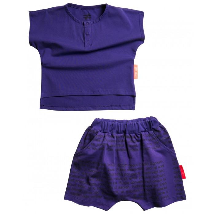 Купить Комплекты детской одежды, Moi Noi Комплект: футболка и шорты Буквы