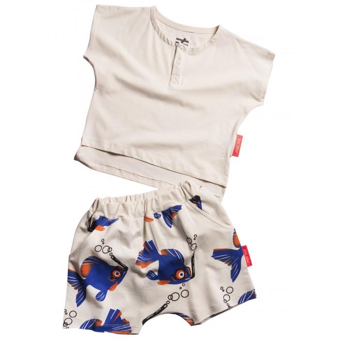 Купить Комплекты детской одежды, Moi Noi Комплект: футболка и шорты Рыбки
