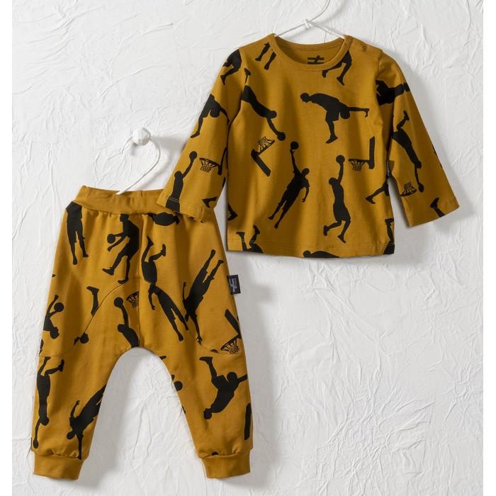 Комплекты детской одежды Moi Noi Комплект (лонгслив, брюки) Баскетбол