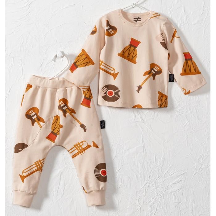 Комплекты детской одежды Moi Noi Комплект (лонгслив, брюки) Музыка