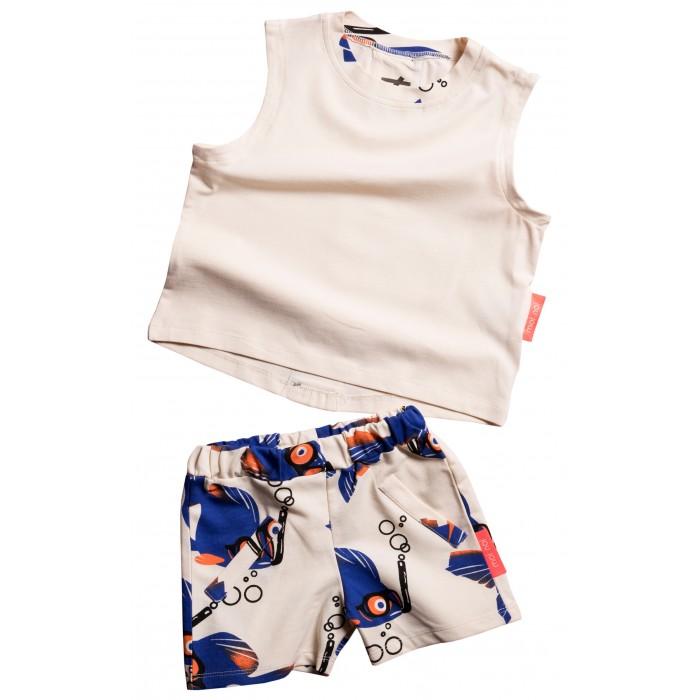 Moi Noi Комплект Майка и шорты Рыбки фото