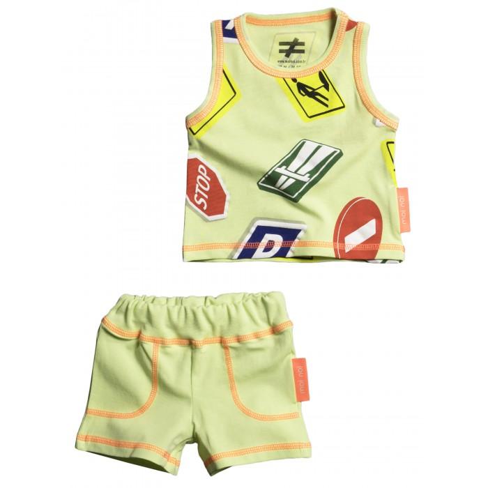 Купить Комплекты детской одежды, Moi Noi Комплект: майка и шорты Знаки