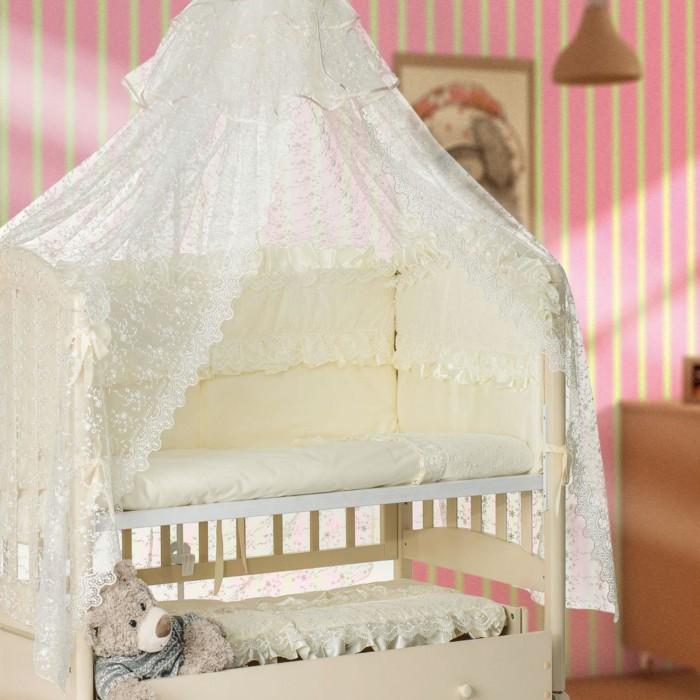 Купить Комплекты в кроватку, Комплект в кроватку Мой Ангелок 2036 (7 предметов)