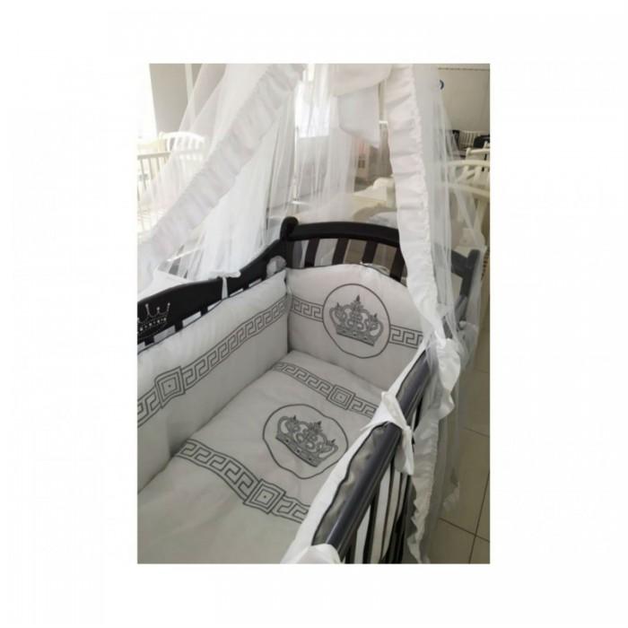 Купить Комплекты в кроватку, Комплект в кроватку Мой Ангелок Императорский (7 предметов) Б-2051