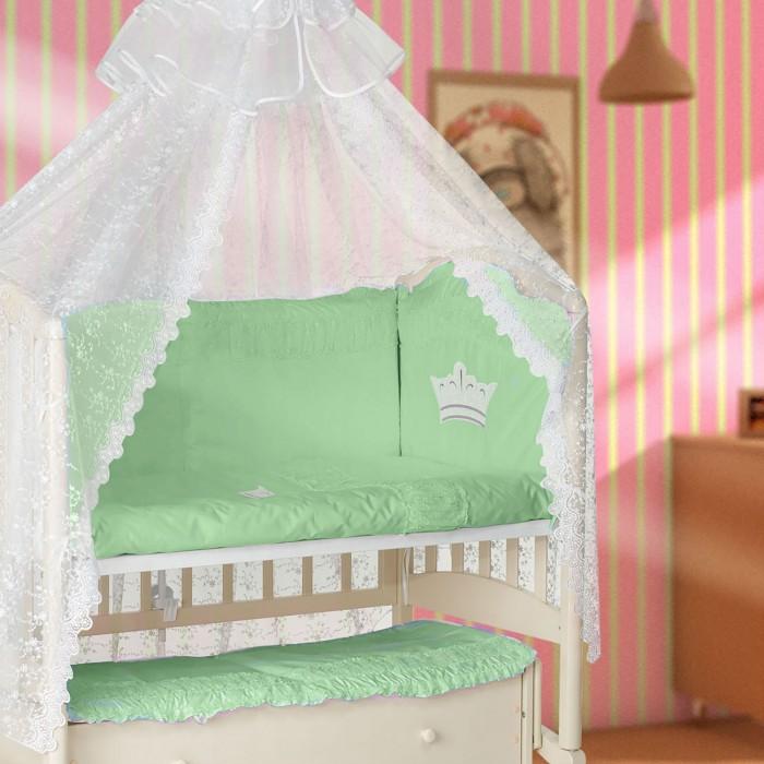 Купить Комплекты в кроватку, Комплект в кроватку Мой Ангелок Корона (7 предметов)