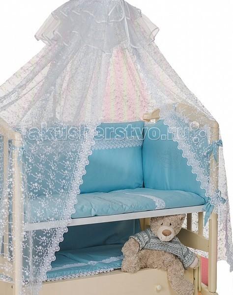 Комплект для кроватки Мой Ангелок 2043 (7 предметов)