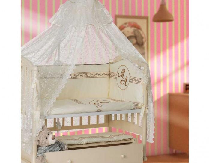 Постельные принадлежности , Комплекты в кроватку Мой Ангелок Олимп (7 предметов) арт: 225238 -  Комплекты в кроватку