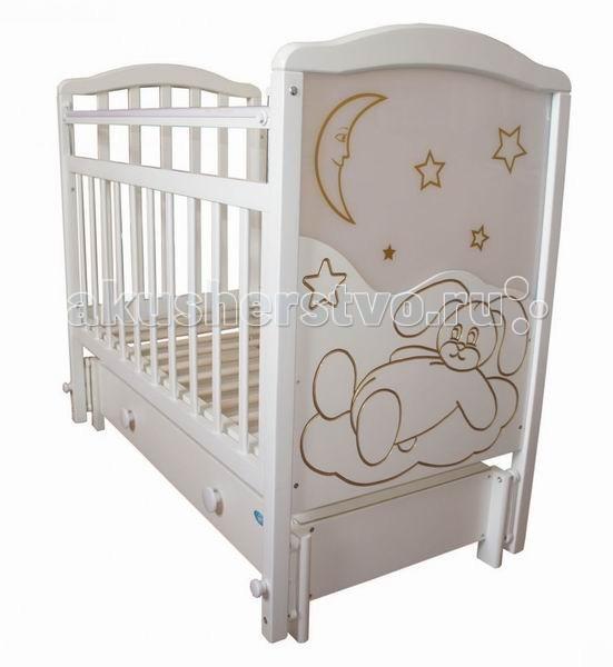Детские кроватки Ивашка Мой малыш 12 маятник продольный обычная кроватка ивашка мой малыш 8 темный