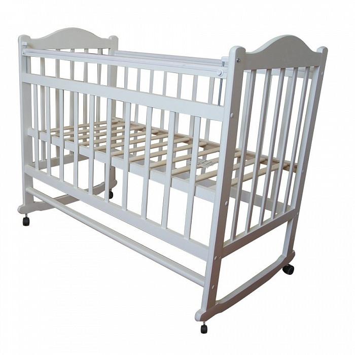 Детские кроватки Ивашка Мой малыш 1 колесо-качалка обычная кроватка ивашка мой малыш 8 темный