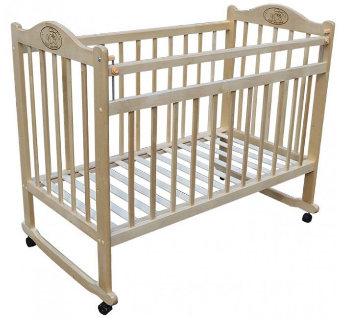 Детские кроватки Ивашка Мой малыш 1 колесо-качалка ивашка мой малыш 5 колесо качалка слоновая кость с накла