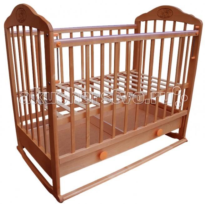 Детские кроватки Ивашка Мой малыш 7 колесо-качалка детские кроватки valle giraffe 02 колесо качалка