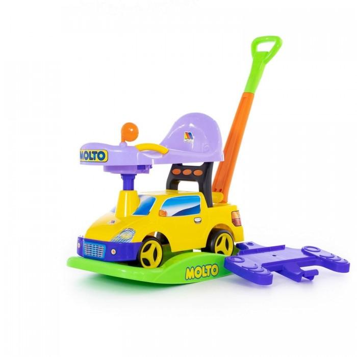 Каталки Molto Автомобиль Пикап каталка машинка r toys bentley пластик от 1 года музыкальная красный 326
