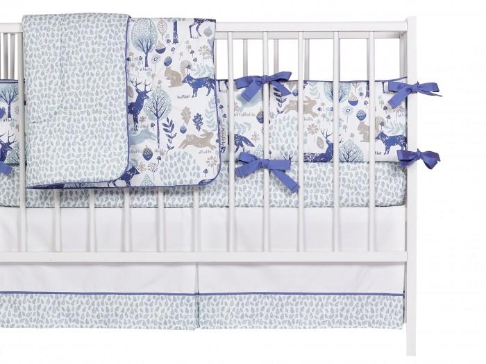 Купить Бортики в кроватку, Бортик в кроватку Mom'Story Design Вудланд