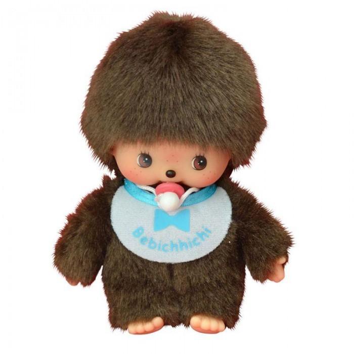 Мягкая игрушка Monchhichi Мальчик в слюнявчике 15 см
