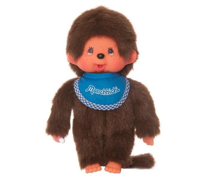 Мягкая игрушка Monchhichi Мальчик в слюнявчике 20 см