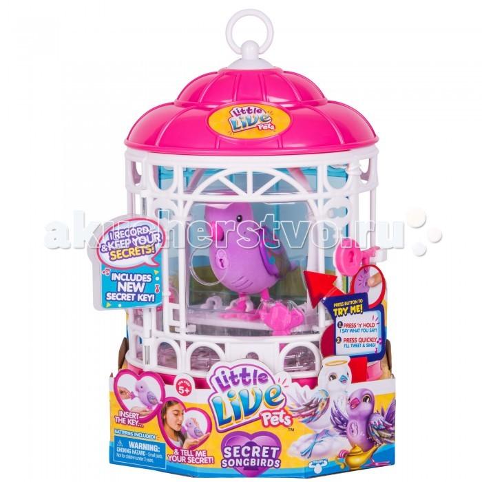 Интерактивные игрушки Moose Птичка в клетке Little Live Pets, Интерактивные игрушки - артикул:369108