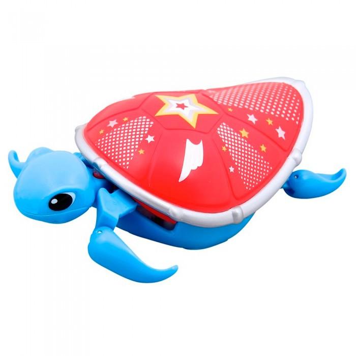 Little live Pets Черепашка третья серияЧерепашка третья серияЭлектронная игрушка Черепашка Little Live Pets третья серия.  Особенности: На брюшке черепахи находится кнопка для включения — выключения игрушки. Питомец отлично ползает по суше, а так же плавает в воде.  При движении черепашка передвигает ластами и шевелит головой словно настоящая. Купание с питомцем обязательно вызовет у ребенка неподдельный восторг, даже нелюбимое занятие как мытье головы пройдет незамеченным.  Для работы необходима одна батарейка ААА(LR03)<br>