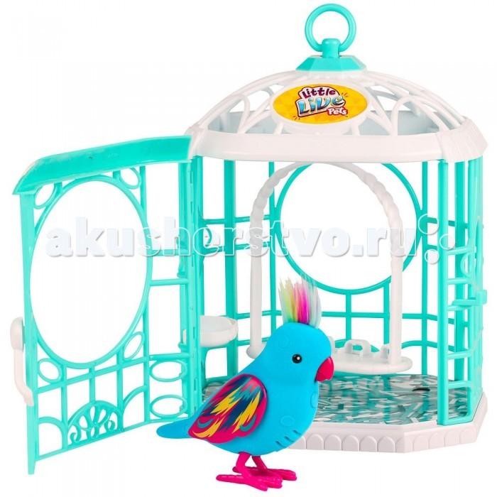 Интерактивные игрушки Little live Pets Птичка в клетке интерактивная игрушка digibirds птичка с мерцающими глазами
