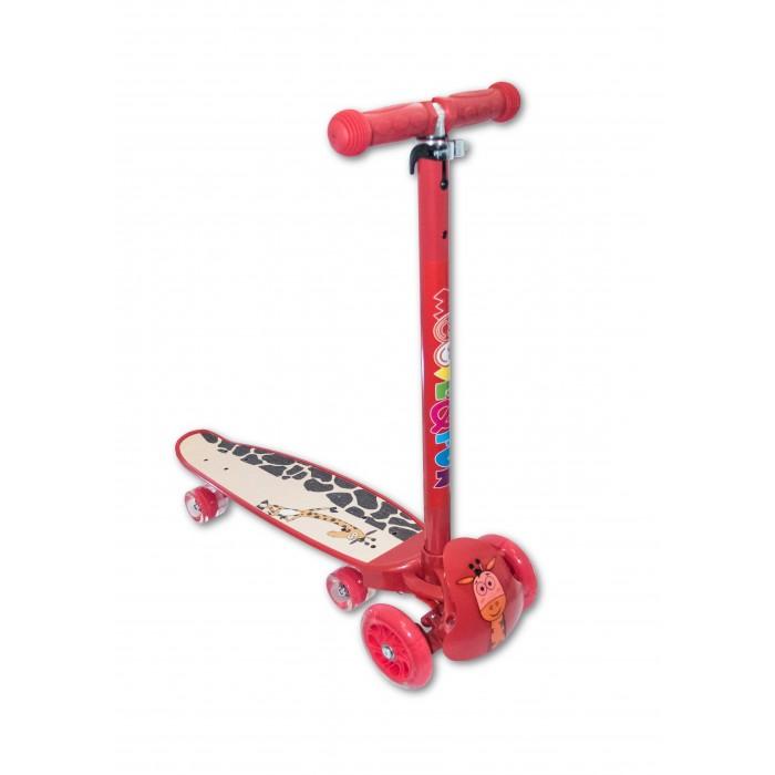 Трехколесный самокат Moove&Fun Скейтборд Hybrid 2 в 1