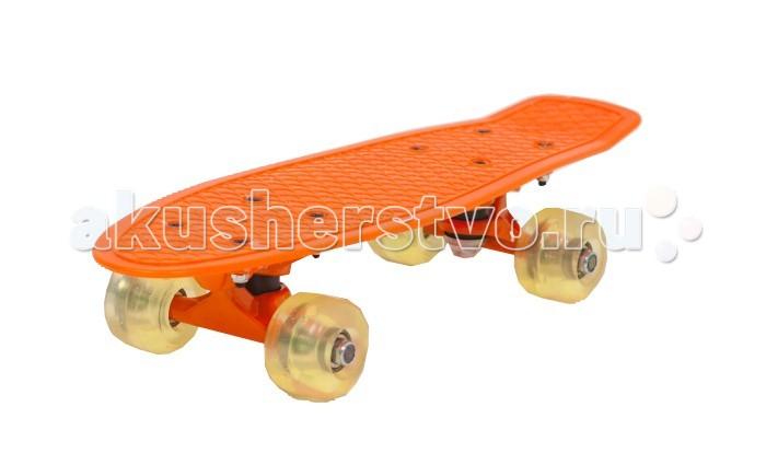 цена на Скейтборды Moove&Fun Скейт пластиковый 17х5