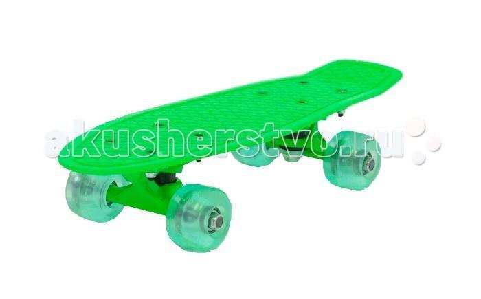Скейтборды Moove&Fun Скейт пластиковый 17х5