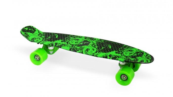 Moove&amp;Fun Скейт пластиковый 22х6-18Скейт пластиковый 22х6-18Moove&Fun Скейт пластиковый 22х6-18 предназначен для дорог с твердым покрытием.   Прочная и надежная конструкция Не рекомендован для выполнения трюков Размер 22  Габариты изделия (Д х Ш х В) 588 х 150 мм  Максимальная нагрузка 100 кг Состав пластик, алюминий, полиуретан Количество колес 4  Материал колес Полиуретан твёрдостью 78 по Шору (шкала А)  Мосты Алюминиевая свехпрочная подвеска  Тип подшипника ABEC-5  Диаметр задних колес, мм 60  Диаметр передних колес, мм 60 Условия хранения не требует особых условий хранения  Ширина колёс 45 мм<br>