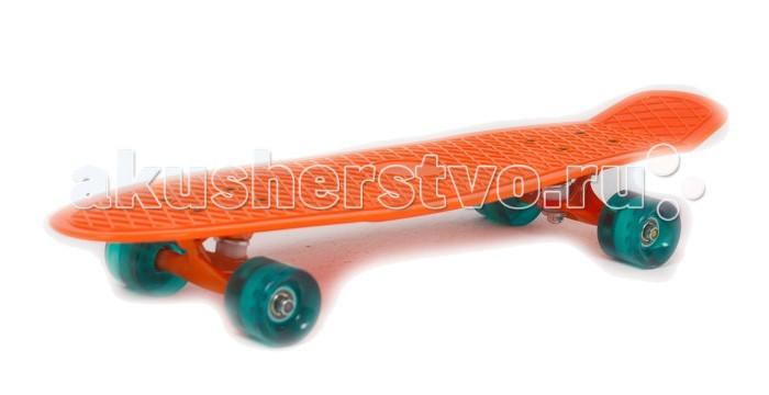 цена на Скейтборды Moove&Fun Скейт пластиковый 27х8