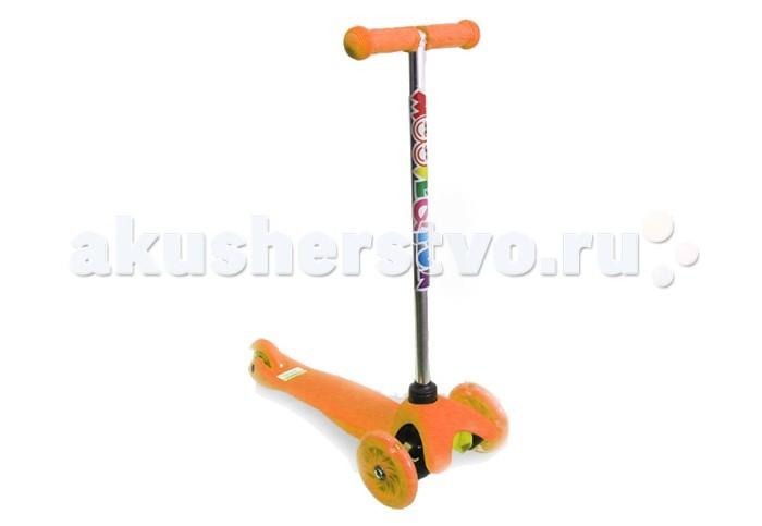 Детский транспорт , Трехколесные самокаты Moove&Fun Mini Led арт: 148311 -  Трехколесные самокаты
