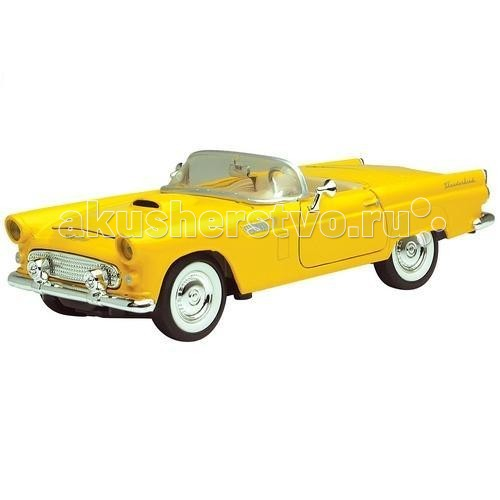 Машины MotorMax Автомобиль 1:24 1956 Ford Thunderbird купить