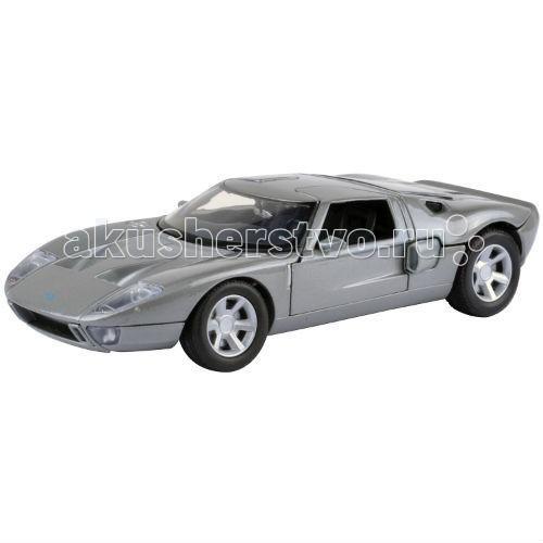 Машины MotorMax Автомобиль 1:24 Ford GT Concept машины motormax модель автомобиля ford police interceptor concept масштаб 1 24