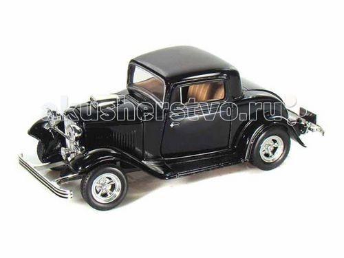 Машины MotorMax Машинка коллекционная 1:24 1932 Ford Coupe модель автомобиля 1 18 motormax audi tt coupe