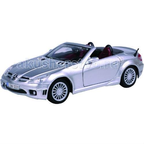 Машины MotorMax Машинка коллекционная 1:24 MercedesBenz SLK55 А/мG motormax трансформирующийся в аэропорт