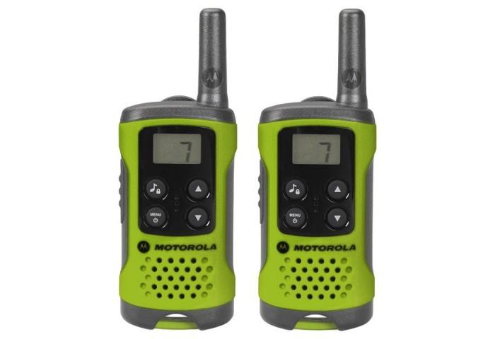 Рации Motorola Комплект из двух радиостанций Motorola TLKR-T41 и набор игрушек рации