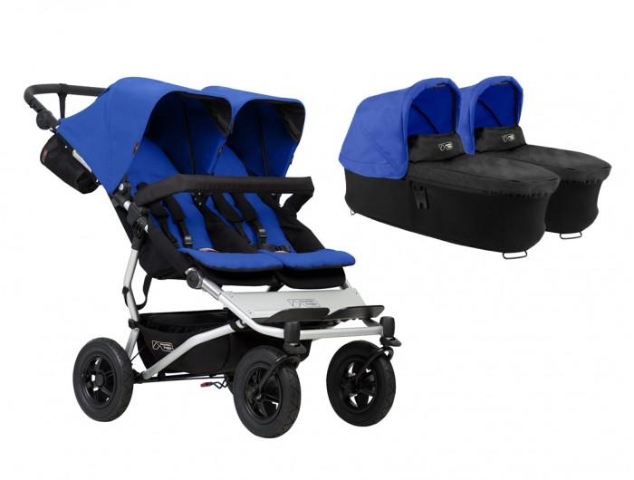 Детские коляски , Коляски для двойни и погодок Mountain Buggy Коляска для двойни Duet 2 в 1 арт: 18382 -  Коляски для двойни и погодок