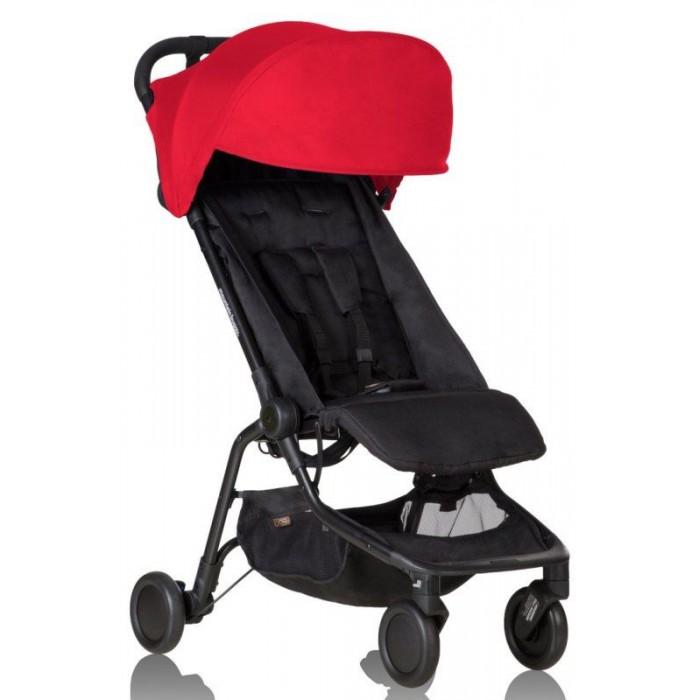 Прогулочная коляска Mountain Buggy NanoПрогулочные коляски<br>Симпатичная и компактная прогулочная коляска Mountain Buggy Nano станет Вашим верным спутником во время путешествий с малышом! Весом менее 6 кг и компактными размерами, эта коляска для путешествий без труда умещается на большинство полок ручной клади в самолетах, а также на багажных полках в поездах и в багажниках автомобилей, делая путешествия с ребенком еще более комфортными.   Особенности Mountain Buggy Nano: Капор Nano бесшумно складывается, а под ним прячется дополнительный солнцезащитный козырек. Коляску Nano можно использовать для детей от 5 месяцев до 4 лет.  Регулируемая в 2-х положениях подножка и откидываемая на 160 гр. спинка позволят малышу чувствовать себя комфортно даже во время продолжительных прогулок, а в большую корзину для покупок можно уместить до 5 кг всего самого нужного.  Колеса диаметром 15 см.  Шины изготовлены из современного материала EVA. Это экологически чистый высокоэффективный вспененный каучук.  Задние колеса имеют встроенные амортизаторы для того, чтобы в ваших совместных путешествиях ребенок чувствовал себя еще более комфортно.  Тормозной механизм коляски приводится в действие удобной V-образной педалью, которая не испортит обувь.  Адаптеры для установки автокресла уже в комплекте Раскладывается одним щелчком  Высота ручки коляски – 100 см.   Технические характеристики Mountain Buggy Nano: Размеры в разложенном виде (Д#215;Ш#215;В) 82 #215; 55 #215; 105 см  Размеры в сложенном виде (Д#215;Ш#215;В) 28 #215; 55 #215; 52 см Вес коляски: 6,1 кг Габариты и вес коробки: 55 х 50 х 30 см, 7.9 кг Высота ручки коляски от земли: 100 см Диаметр и ширина колес: 15 см; 4.5 см. Материал колес: EVA Расстояние между передними колесами: 25 см Расстояние между задними колесами: 51 см. Высота от подушки сидения до капора: 65 см Размеры сидения коляски (глубина х ширина х высота спинки): 24 х 34 х 46 см Длина верхней подножки: 15 см Расстояние от края сидения до нижней подножки: 30 см Высота