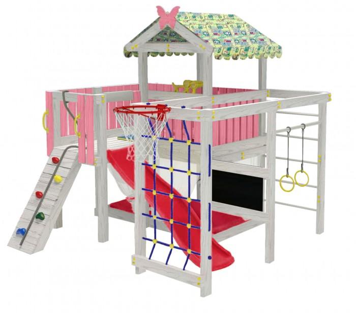 Купить Игровые комплексы, Можга (Красная Звезда) Детский домашний игровой комплекс Чердак ДК3