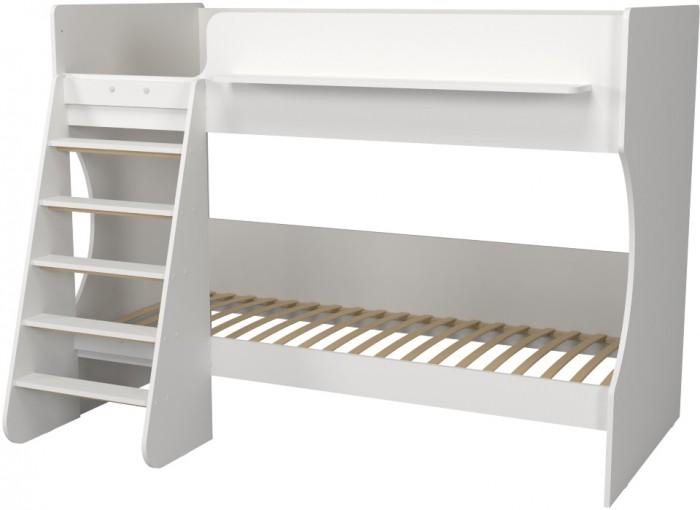 Кровати для подростков Капризун 3 двухъярусная Р438 кровати для подростков капризун 2 чердак р436