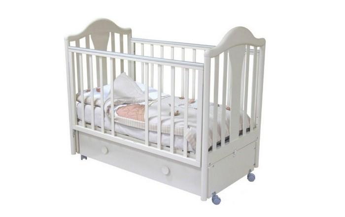 Картинка для Детская кроватка Можга (Красная Звезда) Карина С-555 (маятник продольный)