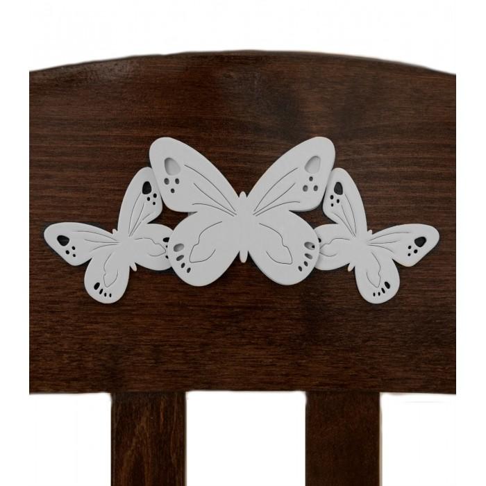 Аксессуары для мебели Можга (Красная Звезда) Накладка №27 Бабочки аксессуары для мебели можга красная звезда ящик стола р430 2